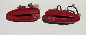 94-01 ACURA INTEGRA FRONT DOOR HANDLES  EXTERIOR DOOR HANDLE OEM RED