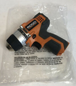 """MINT! RIDGID R82007 12v 3/8"""" Lithium Ion Drill/Driver Tool Only NICE"""