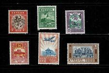 DE855 CEYLON 1950 Local motives  MNH