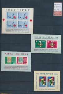 XC52993 Switzerland 1959 philatelic exhibition sheets MNH cv 26 EUR
