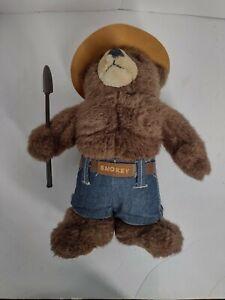 Smokey The Bear Stuffed Animal Plush Forest Ranger 13 inch