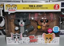 Funko Pop Tom and Jerry Flocked 2 Pack #81 Tom and JerryNew