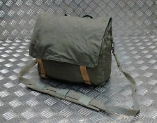 Genuine Vintage Military Canvas Shoulder Bag / Mini Backpack Grey / Green G2