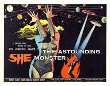 Monster Vintage Art Posters