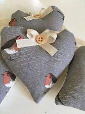 Sophie Allport Robin Fabric Handmade Heart