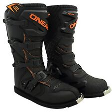 Oneal 2020 Mx Rider Boot Dirt Bike Adult Black Orange Cheap Motocross Boots