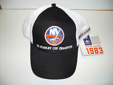 NEW YORK ISLANDERS / BUD LIGHT 1983 STANLEY CUP CHAMPIONS HAT*NEW W/TAGS*
