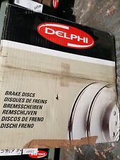 Delphi Rear 2x Brake Discs BG4190 - BRAND NEW - GENUINE