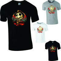 Jack Skellington Halloween T-Shirt Nightmare Before Christmas Scary Horror Gift