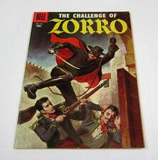 The Challenge of Zorro Four Color Comics #732 Glossy & Crisp VF- DELL 1956 NR