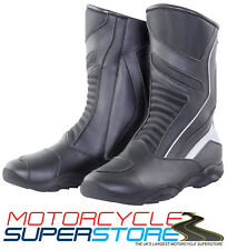 NEW BIKE IT BOOST WATERPROOF FULL MOTORCYCLE MOTORBIKE TOURING ROAD BOOTS