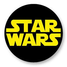 """Pin Button Badge �˜25mm 1"""" Logo Star Wars La Guerre des étoiles"""