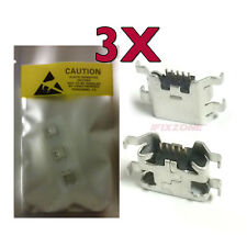 3 X New Micro USB Charging Sync Port Charger For Boost Mobile ZTE Max N9520 USA