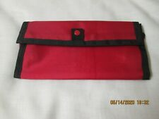 Vintage Coupon Saver Caddy/Wallet Red Coupon-ette