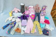 Doll Clothes Lot 29 Barbie Doll Size Skirt Top Dress Tweety Pants Baby Sweater +