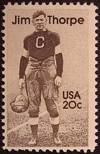 Stamp US 20c Jim Thorpe, (1984) Cat. #2089 Mint NH/OG