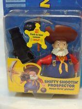 Mattel 1999 Disney Pixar Toy Story Shifty Shootin Prospector Stinky pete MOC