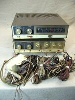 Vintage Knight Tuner KG-70 Stereo Amplifier KX-60 Set Tuner Works Amp Repair