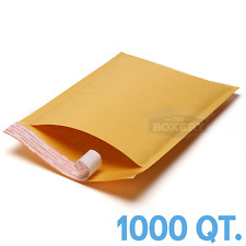 1000 0 Kraft Bubble Padded Envelopes Mailers 65 X 10 From Theboxery