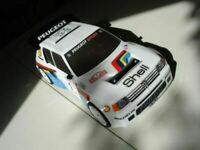 Carrozzeria body RC scala 1/10 Peugeot 205 GTI RALLY-TOURING+ALETTONE