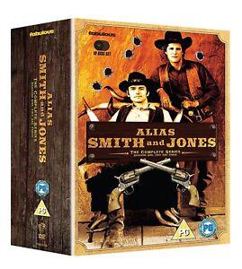 ALIAS SMITH AND JONES 1-3 (1971-1973): COMPLETE TV Season Series - Rg2 DVD sp