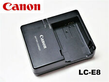 NEW Original OEM Canon 550D 600D 650D 700D T2i T3i T4i T5i Battery Charger LC-E8