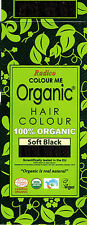 RADICO Colour Me Organic Hair Colours 100g Soft Black