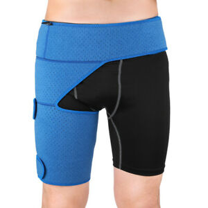 Hip Brace - Compression Groin Support Wrap for Sciatica Pain Relief Thigh New