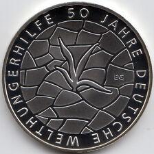 10 Euro Gedenkmünze 50 Jahre Welthungerhilfe 2012 Polierte Platte Silber 625/-