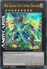 INGLESE Neo Cipher Drago Occhi Galattici ☻ Ultra Rara ☻ DPDG EN039 ☻ YUGIOH