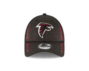 Atalanta Falcons New Era Speed Tech 9FORTY NFL  Adjustable Hat- Black
