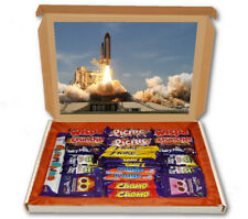 Rocket Launch Space 24 Bar Cadbury Chocolate Hamper Personalised Gift Box