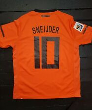 Maillot jersey maglia camiseta trikot Hollande holand netherland robben sneijder