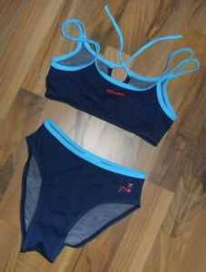 Träger  TANKINI SET   Bikini Gr. 36 jeans Blau NEU
