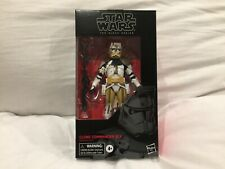 "Star Wars The Black Series 6"" #104 CLONE COMMANDER BLY Action Figure toy"