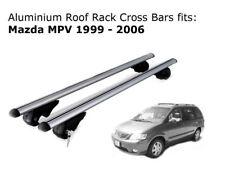 Aluminium Roof Rack Cross Bars fits Mazda MPV 1999-2006
