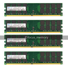 Samsung 16GB 4X 4GB DDR2-800 MHZ PC2-6400 240PIN Desktop memory AMD Motherboard