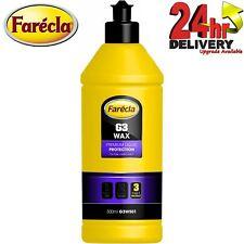 Farecla G3 WAX Premium Liquid Polish High Gloss Protection 0.5litre G3W501 500ml