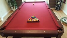 """POOL TABLE - BEAUTIFUL """"ALL IN ONE"""" 8 FOOT IMPERIAL POOL TABLE WITH EVERYTHING!"""