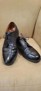 Allen Edmonds Benton Black Cap Toe Dress Shoes 11D