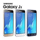 "Samsung Galaxy J3 (2016) 4G LTE 8GB 5"" Dual Sim Free GSM Factory Unlocked J320DS"