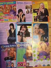 Ashlee Simpson, Lot of Nine Full Page Clippings