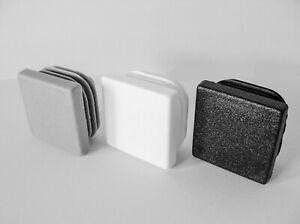 Lamellenstopfen Rohrstopfen Kappe Rohrkappen Deckel für Quadratrohr Vierkant