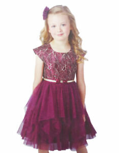 Jona Michelle Girls Formal Party Tulle Dress