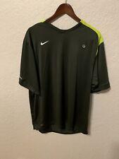 Nike Fit Dry Total 90 Soccer Running Shirt Gym Training Black Sz Xl Bc