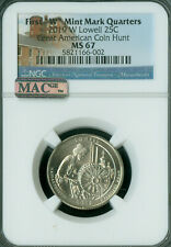 2019-W LOWELL PARK QUARTER NGC MS-67 PQ MAC SPOTLESS RARE gc .