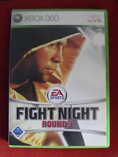 Xbox 360 juego Fight Night Round 3 + instrucciones