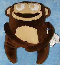 Circo Plush Brown Monkey Pillow Wild Safari Long Arms Stuffed Animal Soft Toy