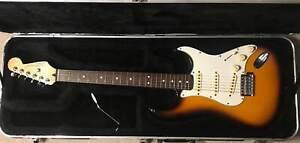 1996 Fender Stratocaster Sunburst w/SKB Hard Case
