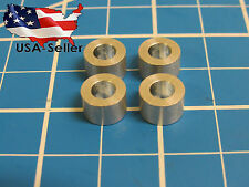 "Aluminum Spacer M5, 1/4"" long, 5.3mm ID x 10mm OD x 6.35mm L (25 pack)"